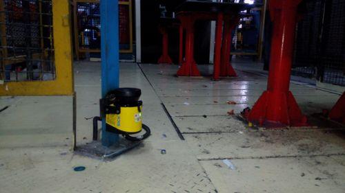 اتوماسیون صنعتی-ایمنی ایستگاه موتور